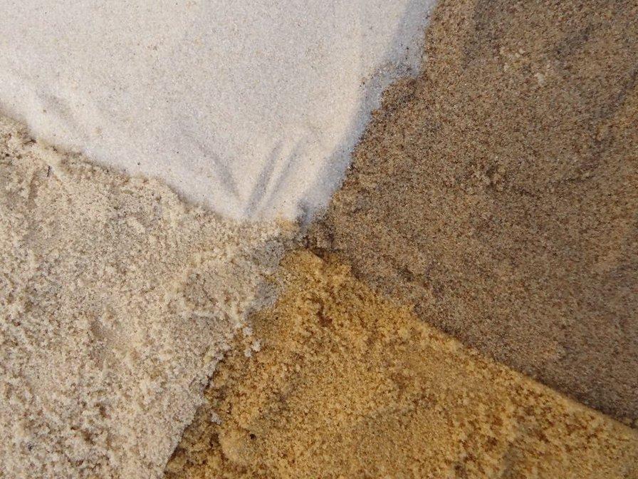 Виды песка в Москве